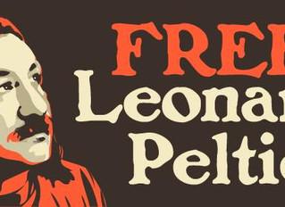 A message from Leonard Peltier: