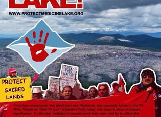 The Battle for the Sacred Medicine Lake Highlands