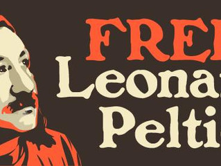 A message from Leonard Peltier: