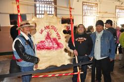 TONY, RIKI and Jimbo at Alcatraz Island The Rock with Berkeley High School Nov 2
