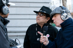 Tony Gonzales, Deban Ross, Dennis Bernstein KPFA Radio 1-9-12 Fight 4 SF Peaks!.