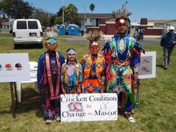 Crockett Coalition to Change the Mascot at Richmond Powwow June 21, 2014.jpg