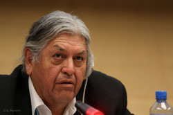 Bill Means at Sympsium in Geneva hosted by DOCIP to acknowledge the Indigenous l