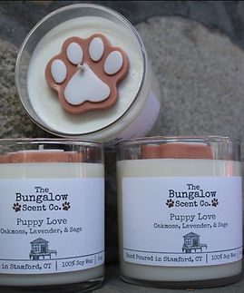 Puppy Love Candle