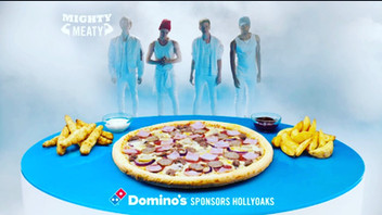 Dominos hollyoaks ident