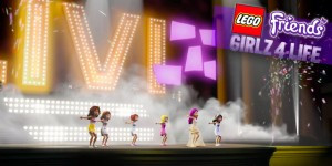 ANIMATION CHOREOGRAPHY FOR LEGO FRIENDS GIRLZ 4 LIFE