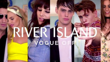 RIVER ISLAND VOGUE OFF CAMPAIGN