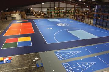 Basketball 100 X 79  9 Pickleball 4 SQ R
