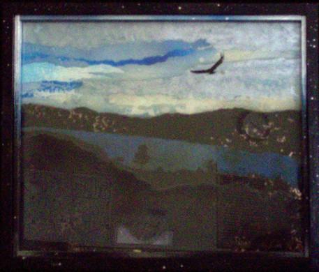 Untitled (Eagle Over Halligan Reservoir)