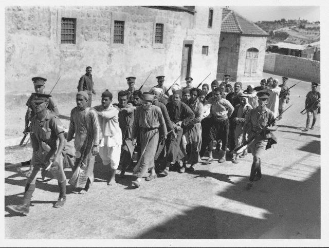 Prisoners British occupation