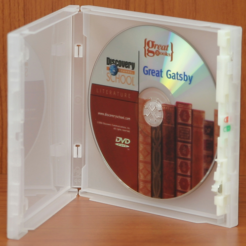 Single CD Case, Clear (price for 100)