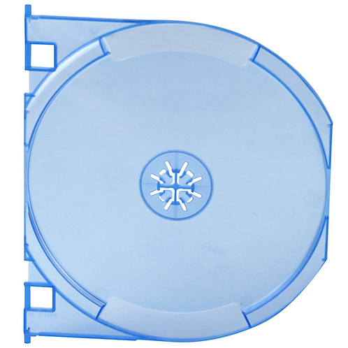 Blu-Ray Snap-In Tray, Blue (price for 145)