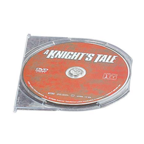 DVD Snap-In Tray, Clear (price for 134)