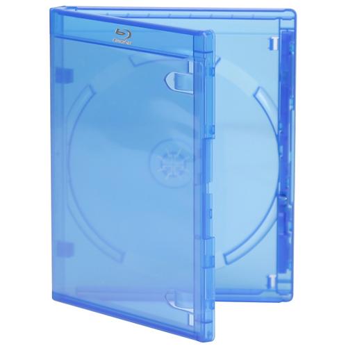 Single Blu-Ray DVD, Blue (price for 100)