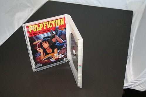 Single DVD Case, Clear (price for 100)