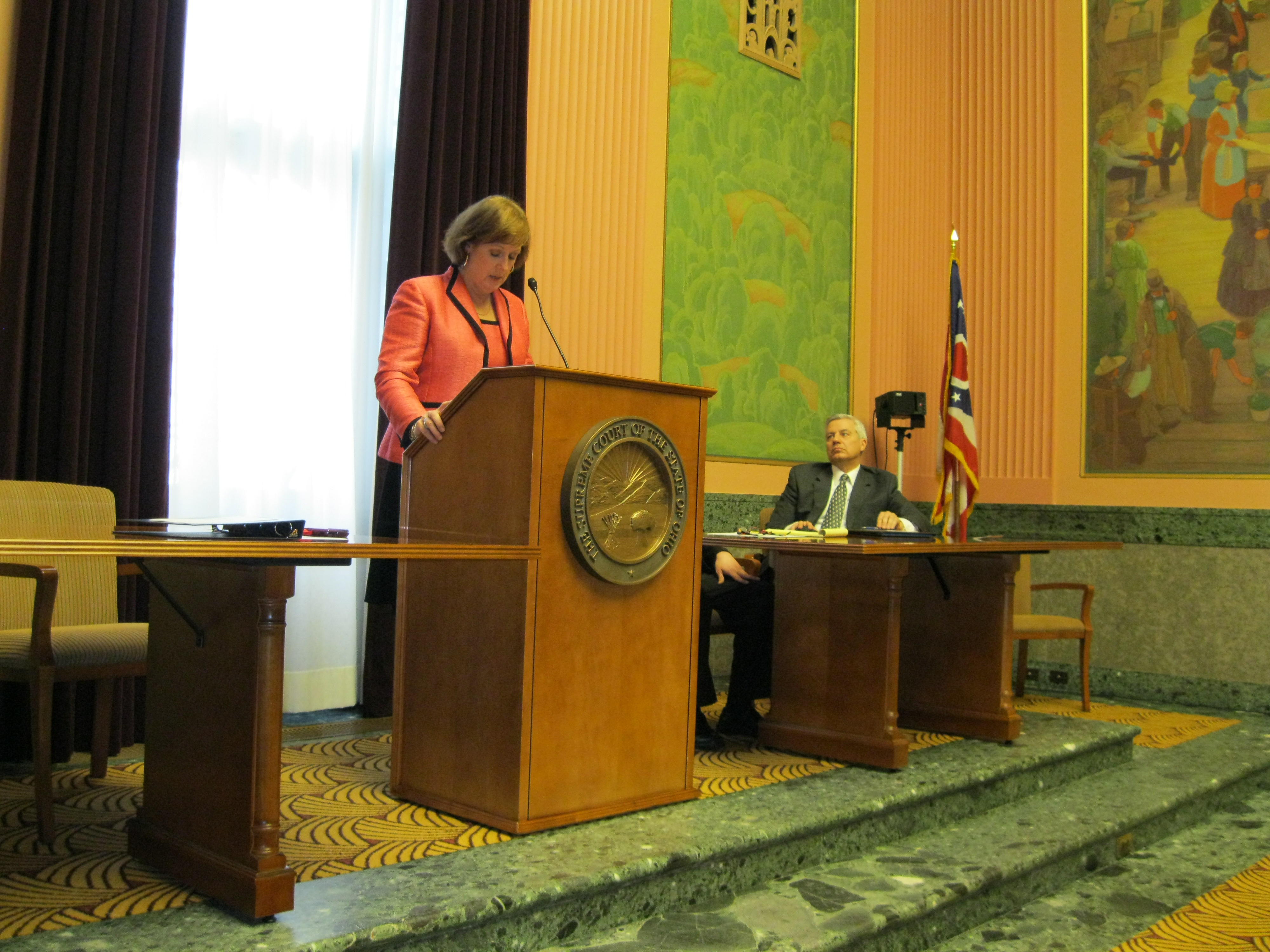 Chief Justice, Maureen O'Connor