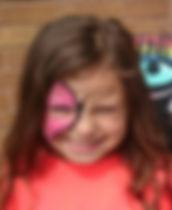 half butterfly facepaint