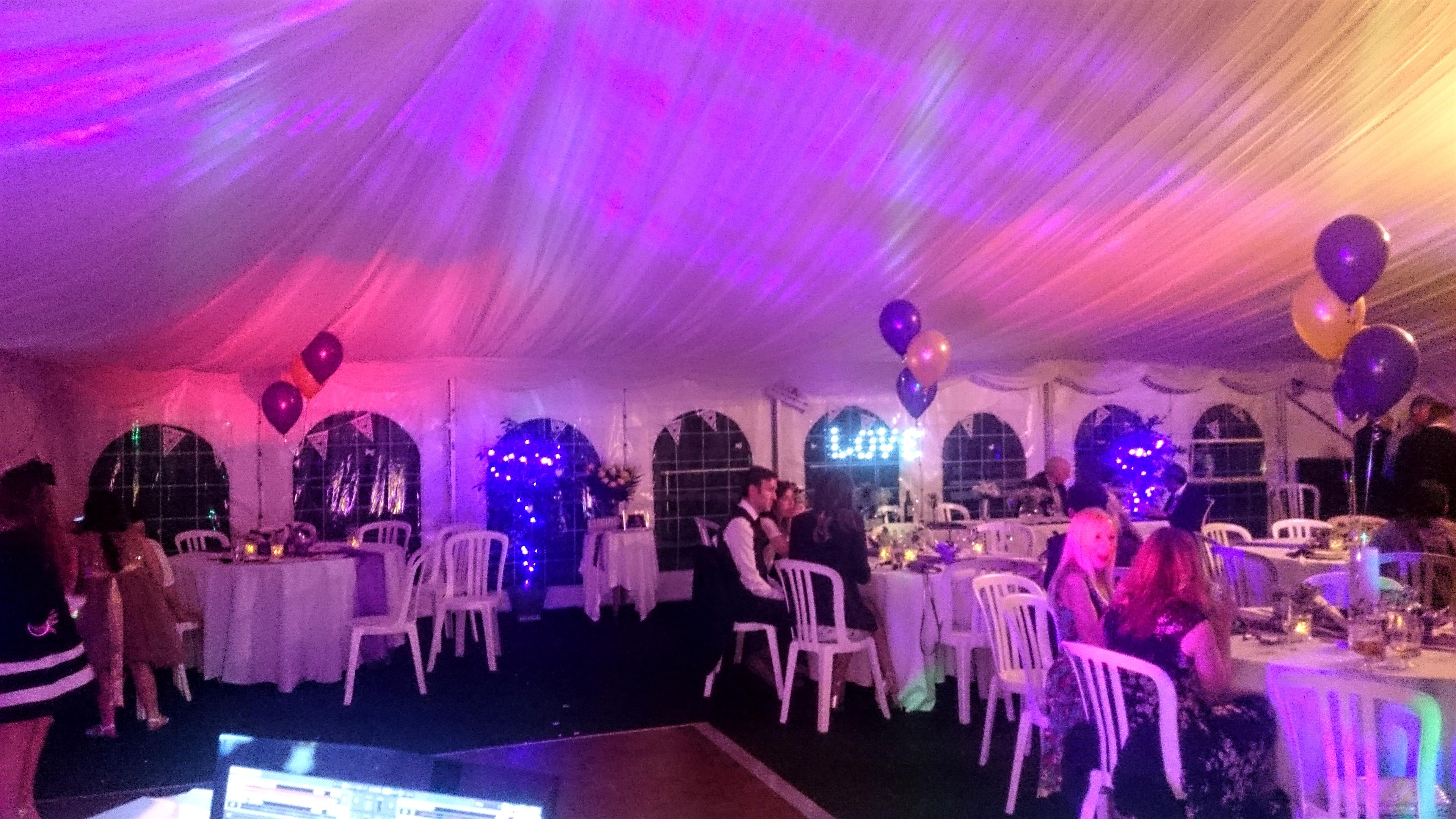 Wedding evening