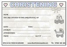 www.discohiremerseyside.com christening invite
