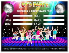 www.discohiremerseyside.com kids party invite