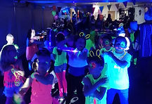 JOINT 8TH BIRTHDAY UV GLOW PARTY
