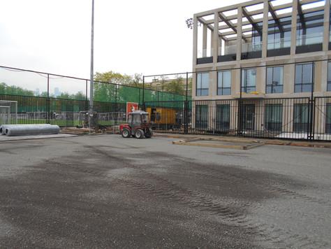 Лужники, футбольное поле №7, закончена реконструкция.