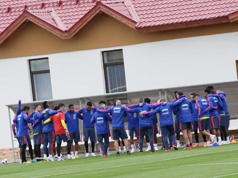 Колумбия провела открытую тренировку