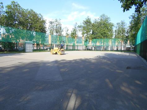 Завершены работы по реконструкции площадки 24 в Лужниках