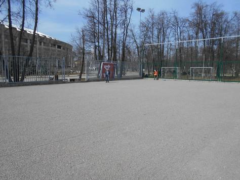 Реконструкция площадки №14 в Лужниках