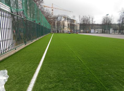 Реконструкция площадки №16 в Лужниках