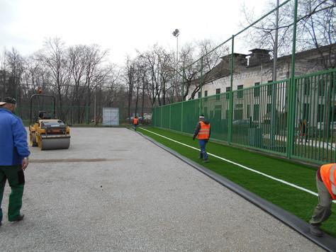 Реконструкция площадки №28 в Лужниках