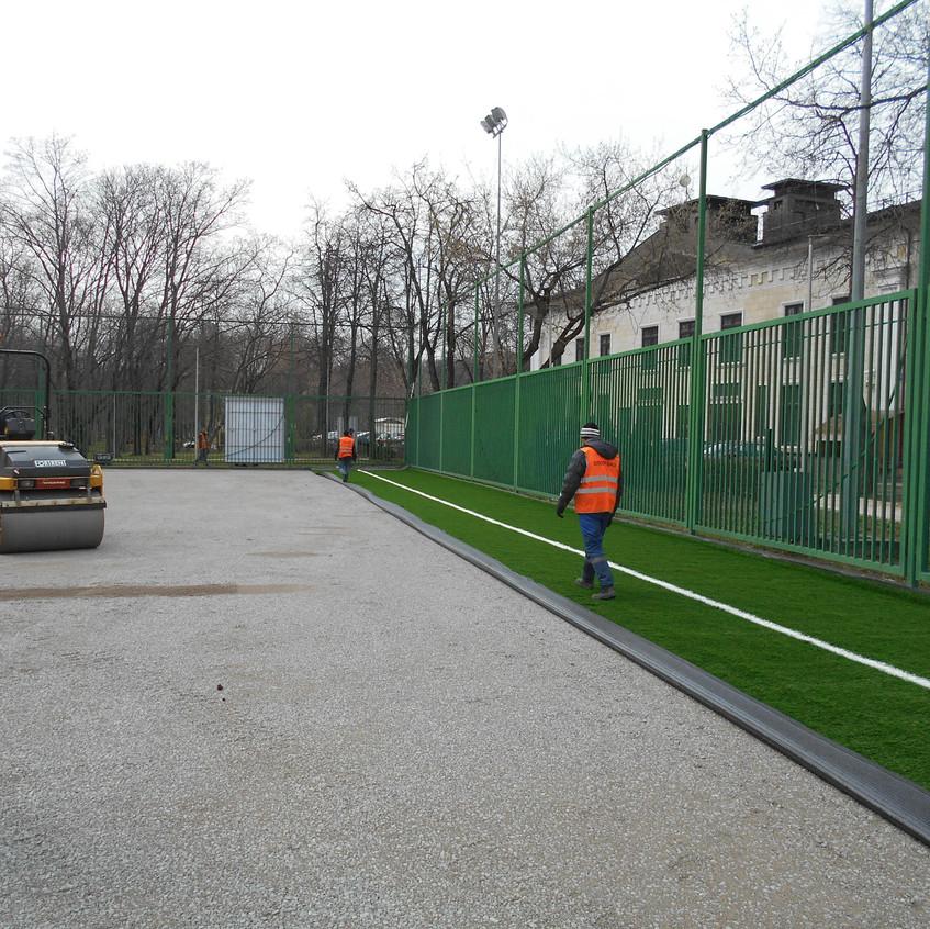 Ремонт площадки №28 в Лужниках