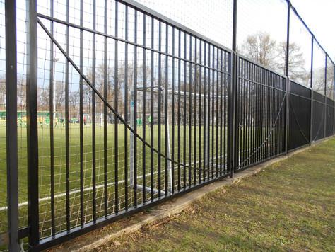 Работы в Лужниках, на футбольном поле №6
