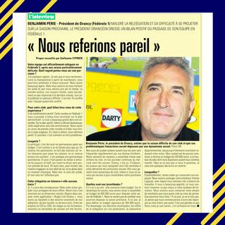 Interview de Benjamin Perié