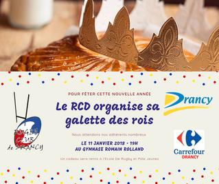 Galette au RC Drancy 🎉