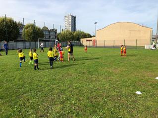 Réception école de rugby Bagnolet U10/U8
