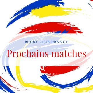 📌Prochains matches