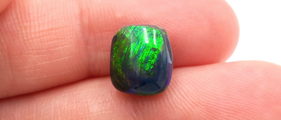 2.78 ct Cushion Black Opal