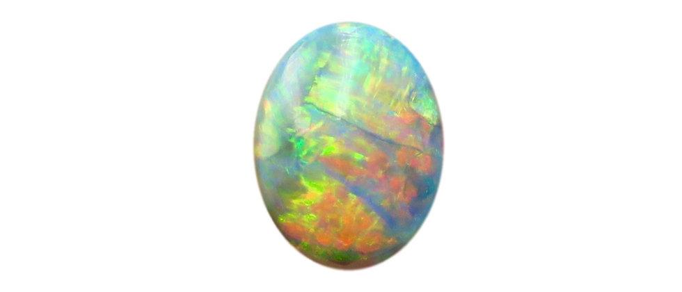 3.35 ct Dark Opal | 11.65 x 8.95 mm