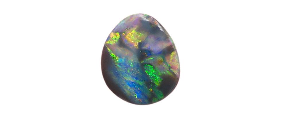 1.38 ct Semi-Black Crystal Opal