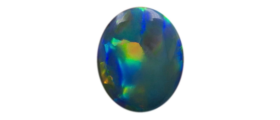 2.39 ct Black Opal | 10.82 x 8.94 mm