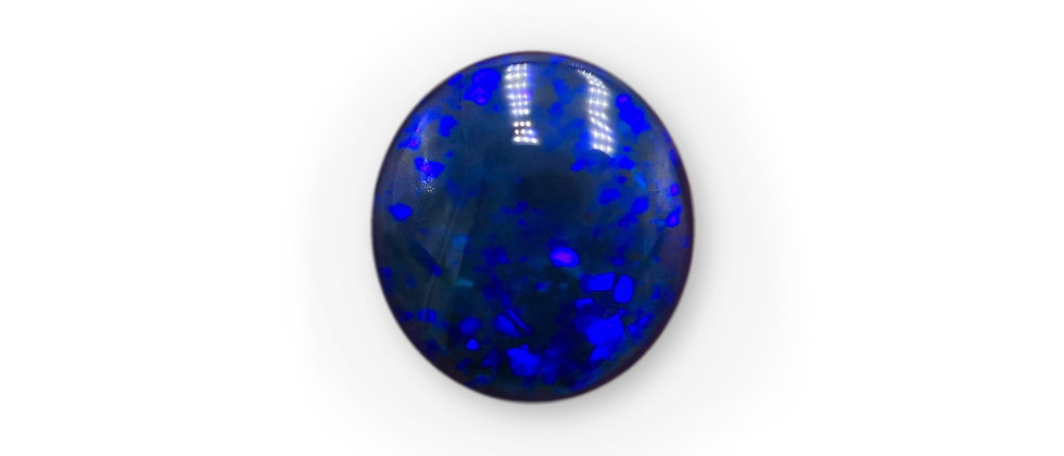 2.26 ct Roval Black Opal | 9.7 x 9 mm