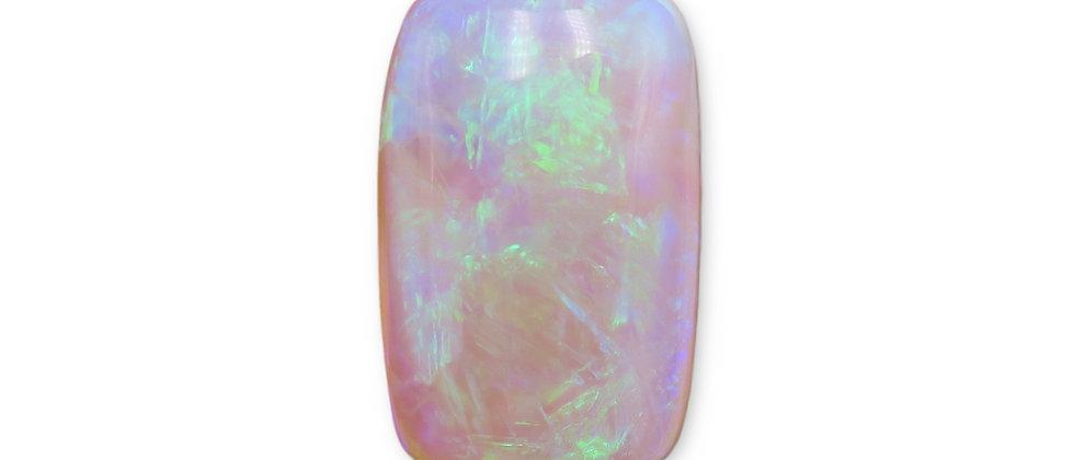 7.96 ct Cushion Cut Crystal Opal | 17 x 18.8 x 6.1 mm
