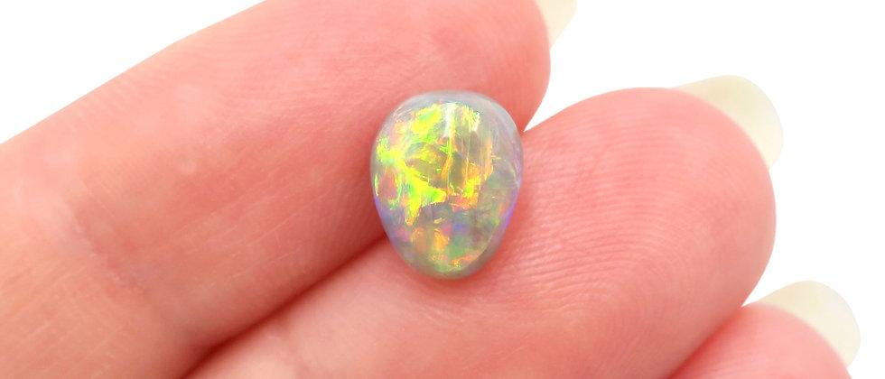 1.63 ct Semi-Black Opal | 8.8 x 1.1 mm