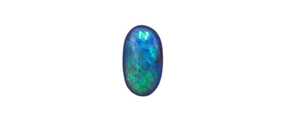 1.19 ct Black Opal | 8.8 x 4.9 mm