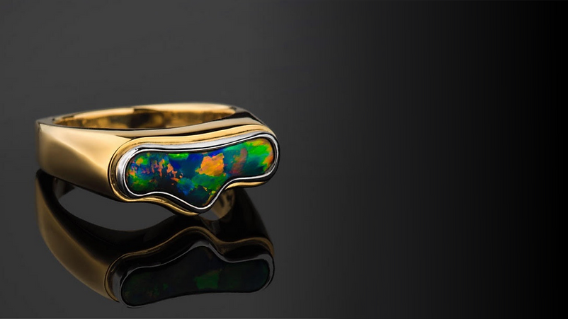 Hopkins Opal | Fine Australian Opal | Lightning Ridge Black Opal Jewelry