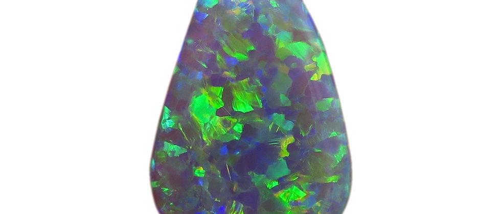 11.40 ct Dark Crystal Opal | 24.7 x 16 mm