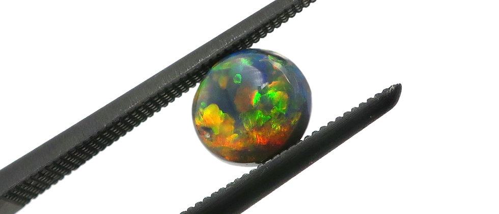 0.59 ct Black Opal | 5.8 x 5.2 mm