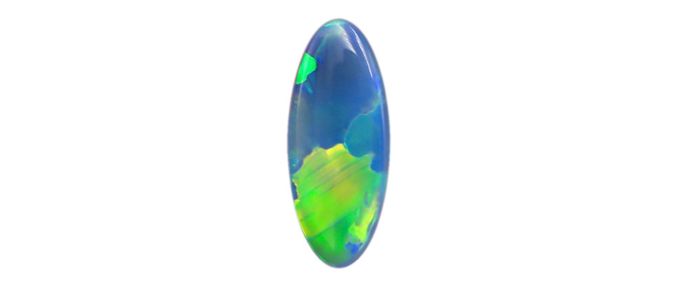 1.33 ct Oval Black Opal
