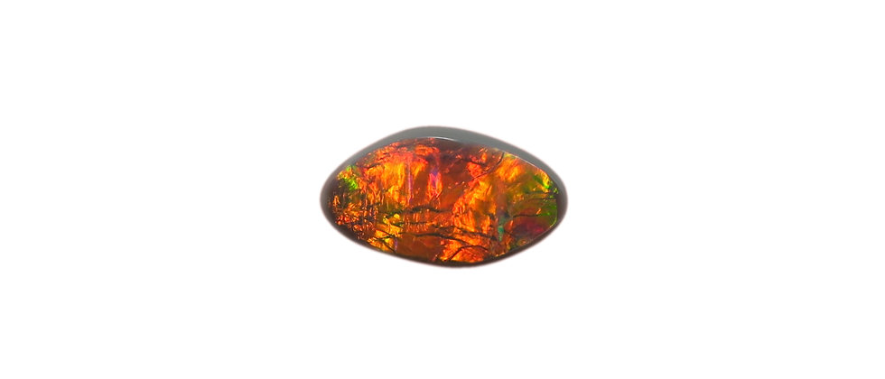 0.81 ct Black Opal | 11 x 6.5 mm